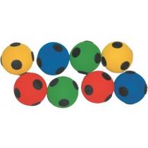 Set van 8 ballen velcro