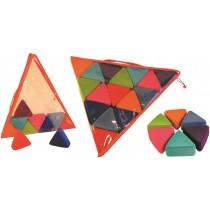 Set van 16 prisma's Rubbabu