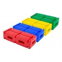 Set van 4 multifunctionele blokken
