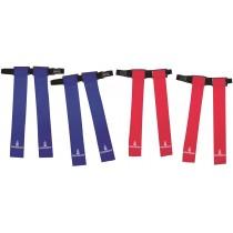 Set van 4 Omnikin gordels (blauw)
