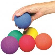 Set van 6 niet terugstuitende ballen