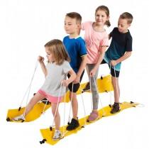 Team ski's voor 5 kinderen