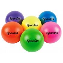 Set van 6 fluo olifantenballen