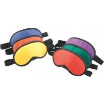 Set van 6 gekleurde stoffen maskers