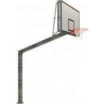 Regelbaar Basketbaldoel - overhang 225cm - te betonneren