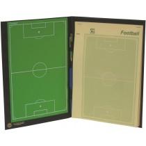 Volleybal tactiekbord en notitieblok