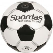 Voetbal met afremzand