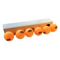 Doos van 6 tafeltennisballen 2*