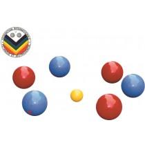 Set van 6 PVC petanque ballen