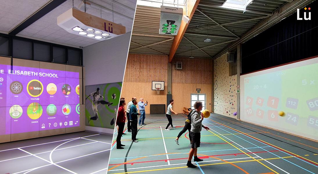 Lü interactive gymzaal - Meer dans 70 projecten