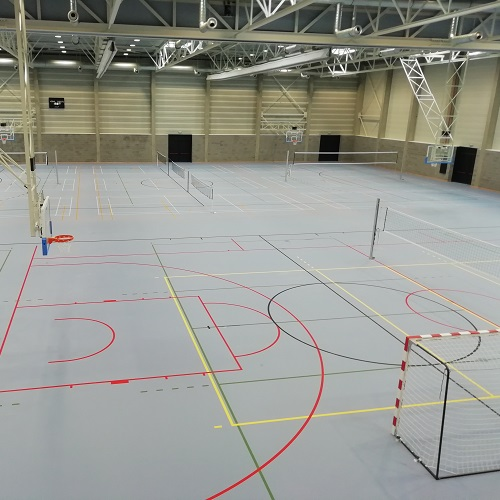 Totaal sportproject in Zele