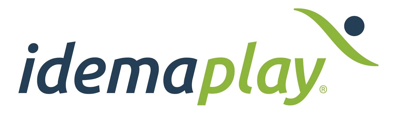 Logo leverancier van sportuitrustingen Idemaplay