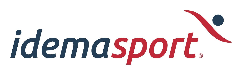 Logo leverancier van sportuitrustingen Idemasport